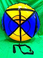 Надувные санки (тюбинг зимний) диаметр 100см.