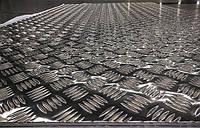 Лист алюминиевый рифленый, марка алюминия АД0, ГОСТ 21631-76