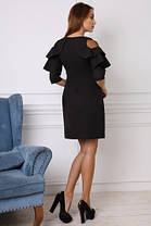 Красивое коктельное женское  платье  (42-46) , доставка по Украине, фото 2
