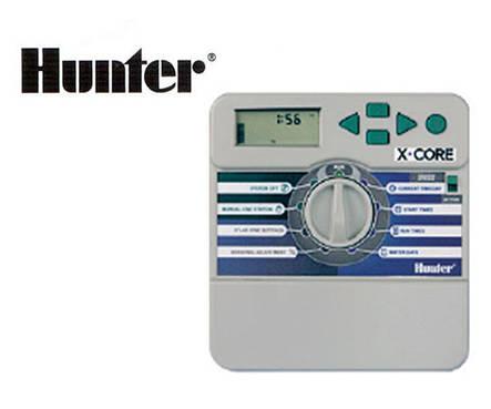 Контроллер X-CORE 601i-E, 6 зон полива (внутренний) Hunter, фото 2
