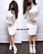 Вязанное платье, размер единый 42-46, фото 3