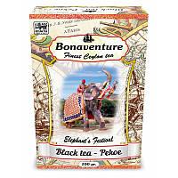 Чай чорний Bonaventure середньолистовий терпкий PEKOE 100 г