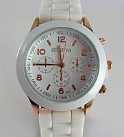 Часы наручные Geneva белые код 012587