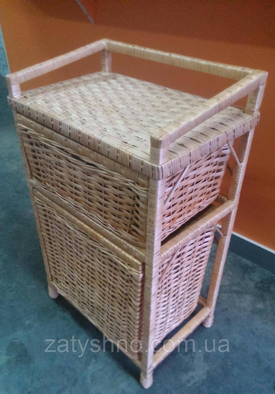 Комод плетеный с ящиками