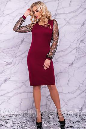 Стильное Нарядное женское платье (44-50р) ,доставка по Украине, фото 2