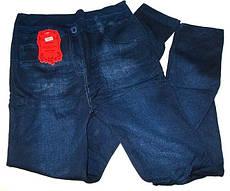 Лосины джинс теплые на махре №952 размер 50-58
