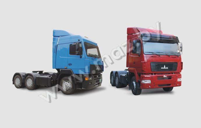 Новый тягач МАЗ 6430 (А8, А9, 18)