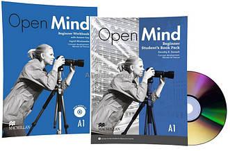 Английский язык / Open Mind / Student's+Workbook. Учебник+Тетрадь (комплект с диском), Beginner/ Macmillan
