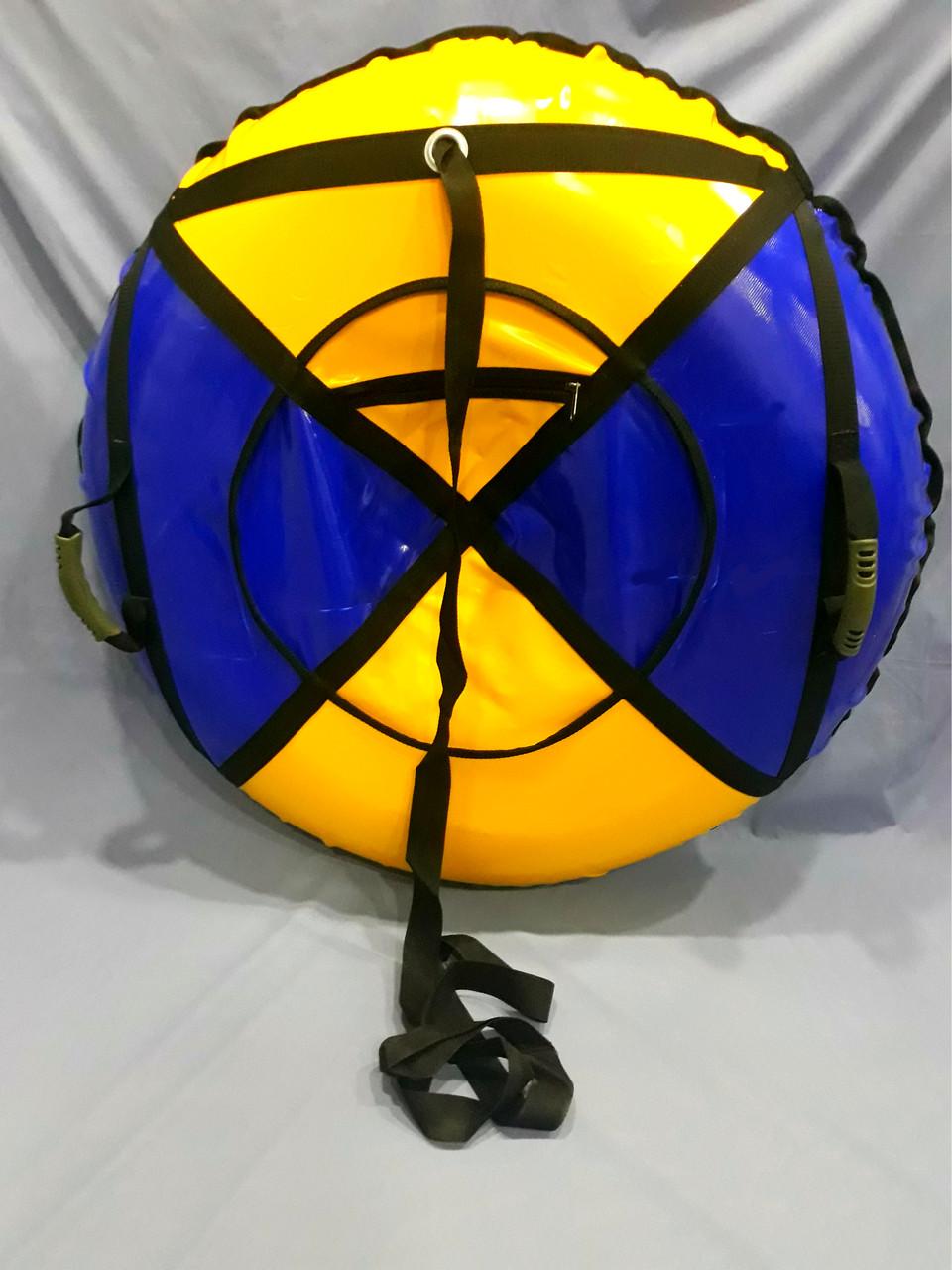 Надувные санки (тюбинг, ватрушка) диаметр 100см.