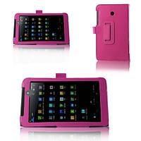 Чехол для Asus FonePad 7 (FE7010CG) из синтетической кожи (розовый)