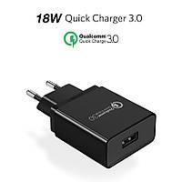 Зарядное устройство Ugreen Quick Charge 3.0 18W, быстрая зарядка, фото 1
