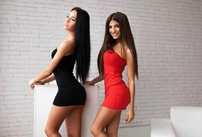 Платье чёрное и красное, фото 2