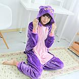 (S, M, L, XL) Кигуруми кошка луна пижама v1418, фото 4