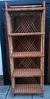 Полка плетеная из  лозы, фото 1