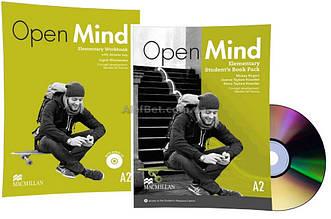 Английский язык / Open Mind / Student's+Workbook. Учебник+Тетрадь (комплект с диском), Elementary / Macmillan
