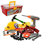 Игровой набор инструментов 2056 / чемодан с инструментами (48 предметов)