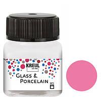 Краска по стеклу и керамике C.Kreul Hobby Line на водной основе под обжиг Роза 20 мл (KR-16209)