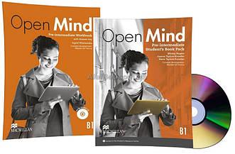 Английский язык / Open Mind / Student's+Workbook. Учебник+Тетрадь (комплект), Pre-Intermediate / Macmillan