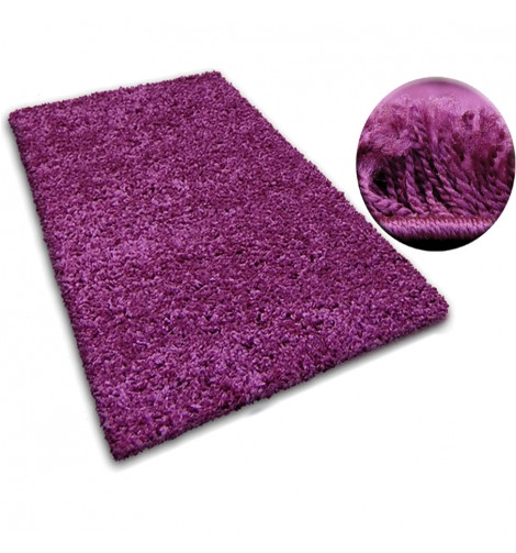 Ковер SHAGGY GALAXY 60x100 см 9000 фиолетовый