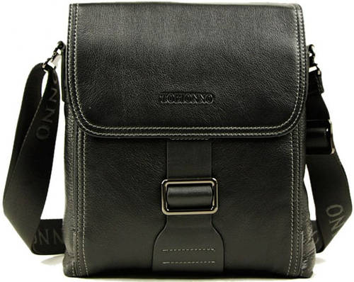 Стильная модная сумка-планшет для мужчин Тоfionno 07842-3 черная