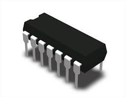 Микросхема логики CD4001BE, DIP-14