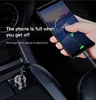 Автомобильное зарядное устройство BASEUS Dual USB Quick Charger 3.0, фото 6