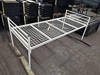 Кровать металлическая одноярусная 2,0*0,9 м
