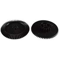 Шестерня к мясорубкам Ротор, Помощница. Внешн диаметр 82мм 54 зуба, малый 38мм 17 зубов, под вал 6мм.