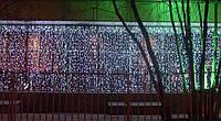 Гирлянда Водопад 3х3 метра 960 led / Световой занавес, Штора, Дождь