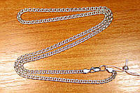 Цепь Бисмарк серебро 925 проба 45см 10.52г, фото 1