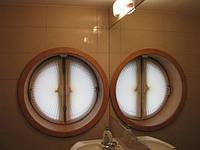 Плиссе на круглые окна