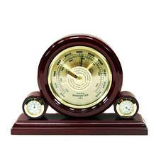 Настольный барометр из дерева