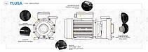 Насос AquaViva LX LP300T/OS300T 35 м3/ч (3HP, 380В), для аттракционов (без префильтра), фото 3