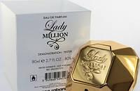 Тестер Paco Rabanne Lady Million EDP 80 ml Лицензия Голландия 100% копия Оригинала