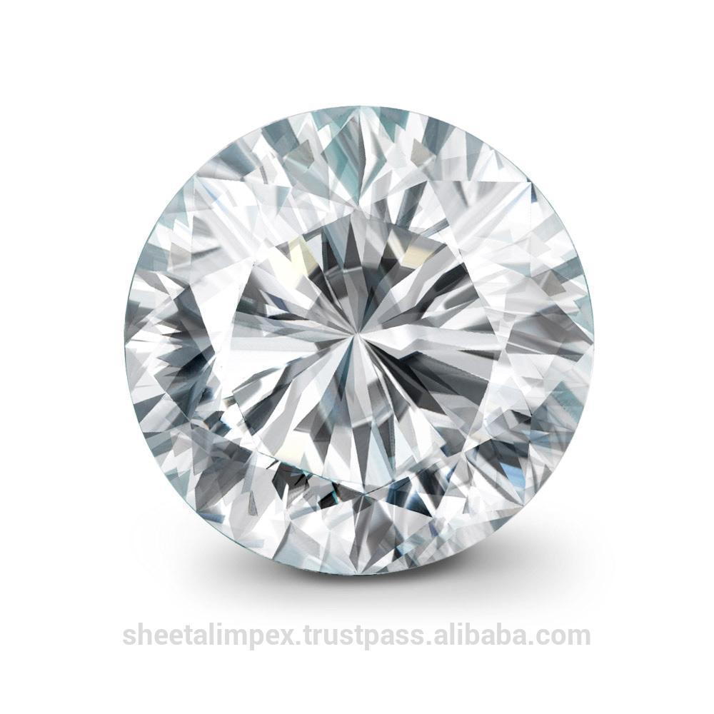Синтетический HPHT бриллиант 3 мм