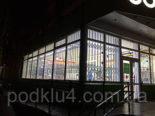 Раздвижные решетки для магазинов Бытовой Техники, фото 2
