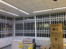 Раздвижные решетки для магазинов Бытовой Техники, фото 3