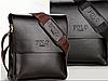 Мужская сумка через плечо Polo Videng. Часы в Подарок, фото 2