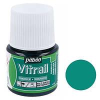 Краска витражная Pebeo Vitrail на основе растворителя Бирбзовый 45 мл (P-050-017)