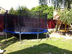 Батут для детей 465 см на детской площадке -1