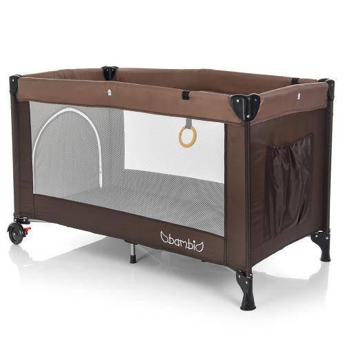 Манеж детский  BAMBI M 3696-4 коричневый  ***