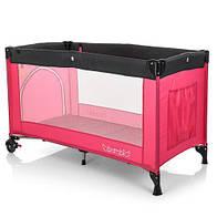 Манеж детский  BAMBI M 3696-1  розовый ***