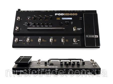 Гитарный процессор эффектов Line6 POD HD400