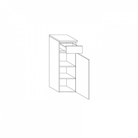 Нижний шкаф со столешницей Gorenje Oasis BKG 30.17 R
