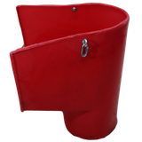Мусоросброс - приемный рукав с комплектующими (цепи, карабины)