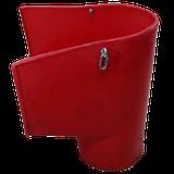 Мусоросброс - приймальний рукав з комплектуючими (ланцюги, карабіни)