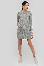 Прямое женское платье из букле (Yanis crd), фото 3