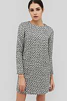 Прямое женское платье из букле (Yanis crd)