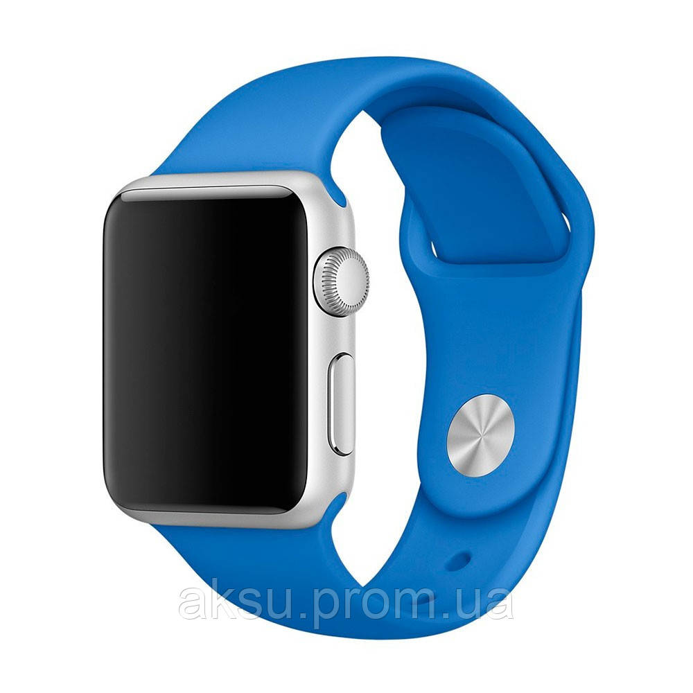 Ремешок для Apple Watch Sport Band 38 mm/40 mm (Blue cobal)