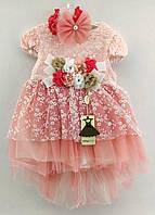 Детское нарядное платье 1 2 3 4 года Турция (плд4007)